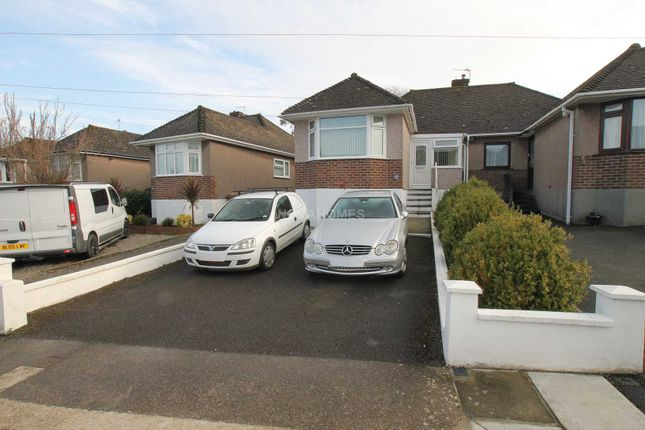 Thumbnail Semi-detached house for sale in Vicarage Gardens, St Budeaux