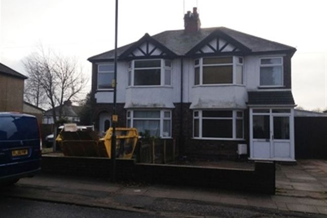 Thumbnail Semi-detached house to rent in Burnsall Road, Canley, Coventry
