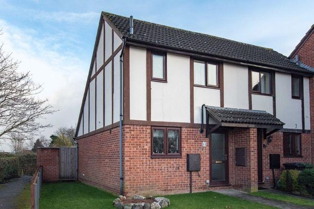 Thumbnail End terrace house to rent in Thomas Close, Hereford