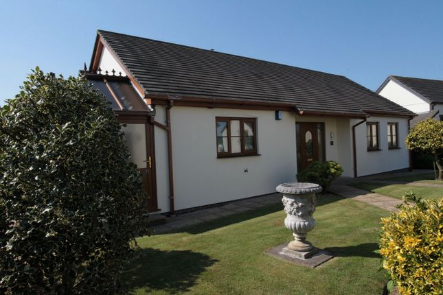 Thumbnail Detached bungalow for sale in Rosevale Gardens, Luxulyan, Bodmin, Cornwall