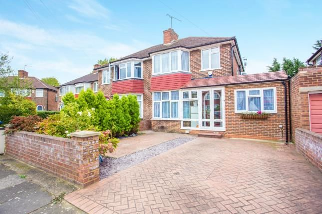 4 bed semi-detached house for sale in Braemar Gardens, London