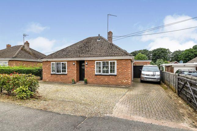 Thumbnail Detached bungalow for sale in Nursery Lane, South Wootton, King's Lynn