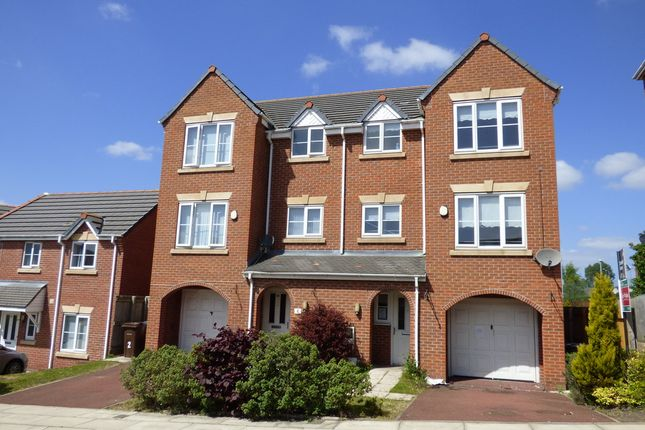 Thumbnail Town house for sale in Peterhouse Mews, Bootle