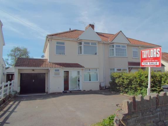 Thumbnail Semi-detached house for sale in Badminton Road, Downend, Bristol, Gloucestershire
