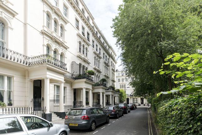 Exterior of Kensington Gardens Square, London W2