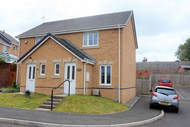 Thumbnail Semi-detached house for sale in Ffordd Y Dolau, Llanharan