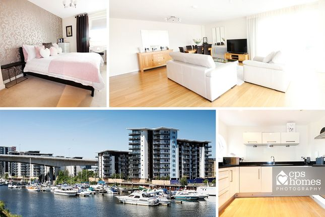 Thumbnail Terraced house to rent in Victoria Wharf, Watkiss Way, Cardiff