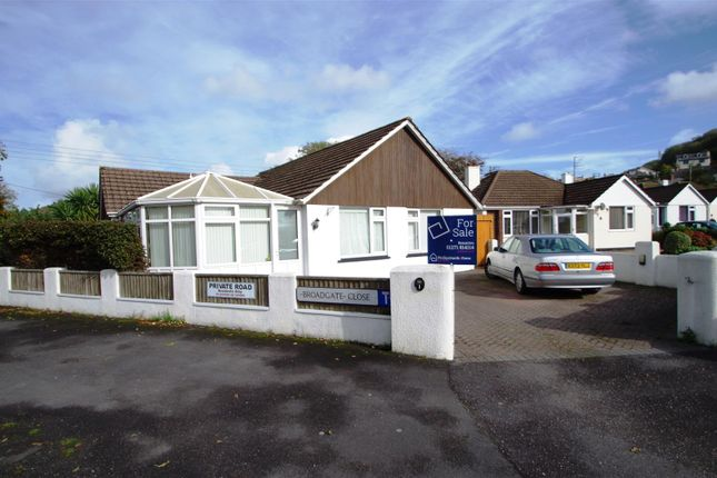Thumbnail Detached bungalow for sale in Broadgate Close, Braunton