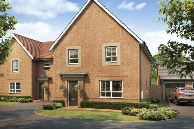 "4 bedroom detached house for sale in ""Oakham"" at The Ridge, London Road, Hampton Vale, Peterborough"