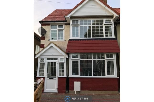 Thumbnail Semi-detached house to rent in Greencroft Road, Hounslow