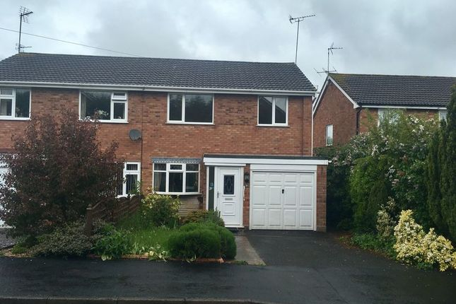 Thumbnail Semi-detached house to rent in Oak Road, Eccleshall