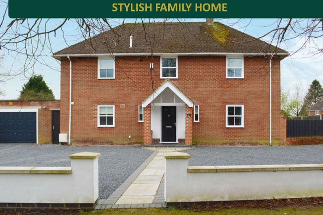 Thumbnail Detached house for sale in Hindoostan Avenue, South Wigston, Leicester