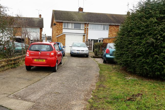 Thumbnail Terraced house for sale in Sunrise Avenue, Chelmsford