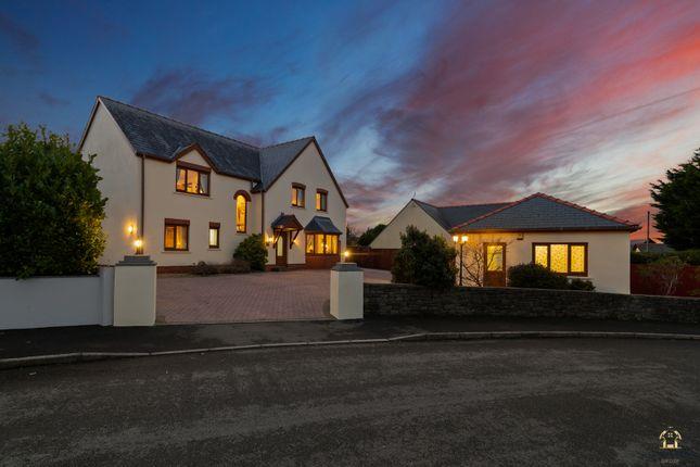 6 bed detached house for sale in Elidyr Park, Llangwm, Haverfordwest SA62