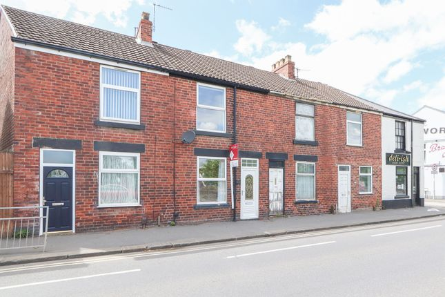2 bed terraced house to rent in Sheffield Road, Chesterfield S41