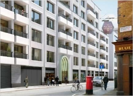 Thumbnail Flat for sale in Rathbone Square, Fitzrovia