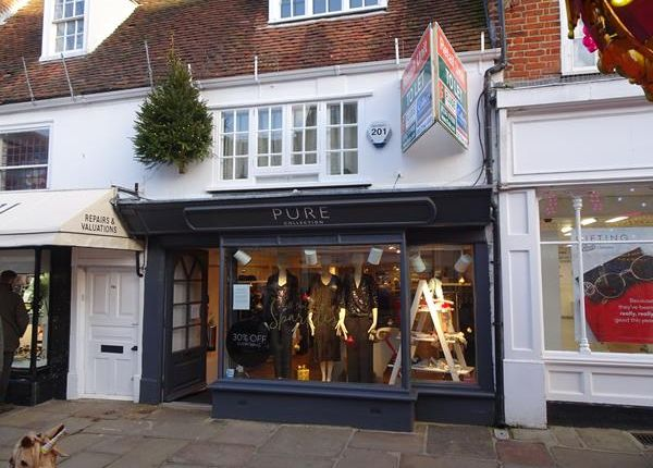 Thumbnail Retail premises to let in 75 North Street, Ground Floor And Basement, Chichester, West Sussex
