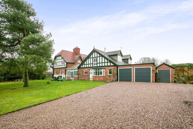 Thumbnail Semi-detached house for sale in Leahead Cottages Nantwich Road, Stanthorne, Middlewich