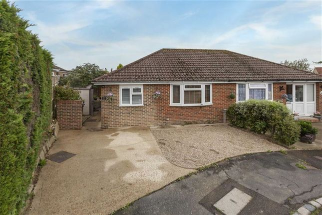 Thumbnail Semi-detached bungalow for sale in Coombe Close, Herstmonceux, Hailsham