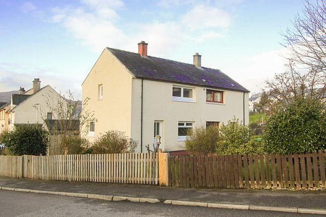 Thumbnail Semi-detached house for sale in Drumfada Terrace, Corpach, Fort William, Inverness-Shire