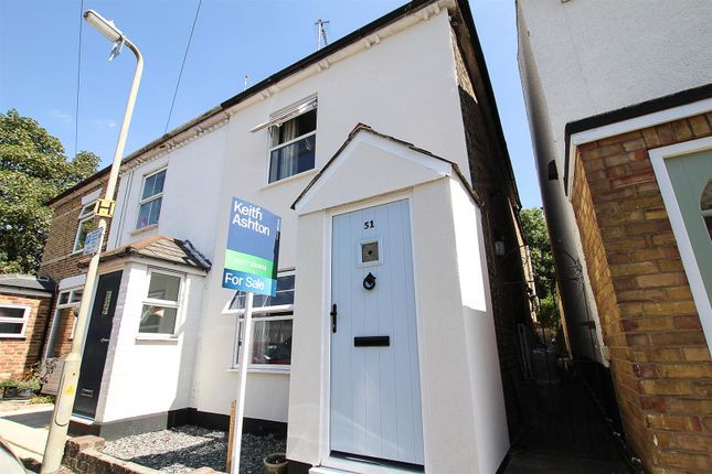 Thumbnail Cottage for sale in Alfred Road, Brentwood