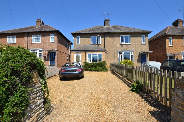 Thumbnail Semi-detached house to rent in Old Leicester Road, Wansford, Peterborough