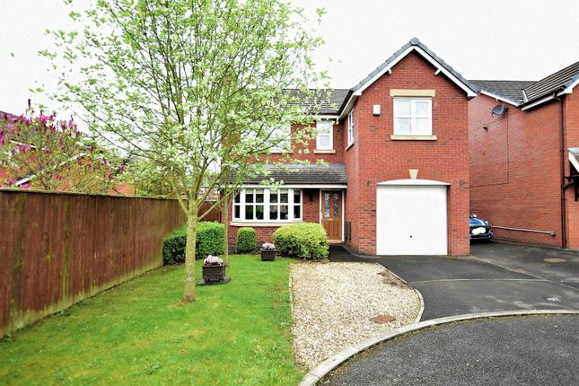 Thumbnail Detached house for sale in Linden Close, Clifton, Preston