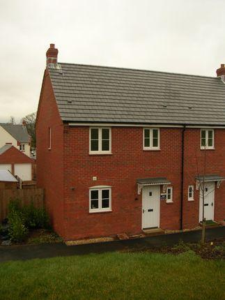 Thumbnail Semi-detached house to rent in Whitestone Drive, Tiverton