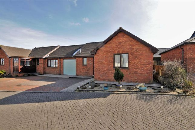 Thumbnail Semi-detached bungalow for sale in Rosecott Park, Kilkhampton, Bude, Cornwall