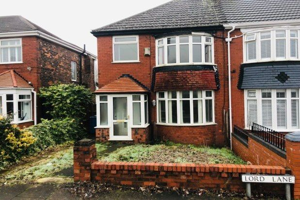 Thumbnail Semi-detached house to rent in Lord Lane, Manchester