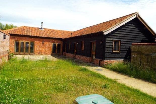 Thumbnail Bungalow to rent in Fressingfield, Eye, Suffolk