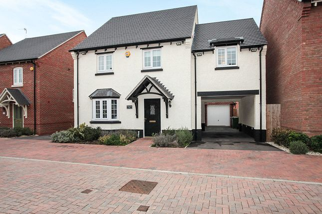 Thumbnail Detached house for sale in Red Cross Way, Nuneaton