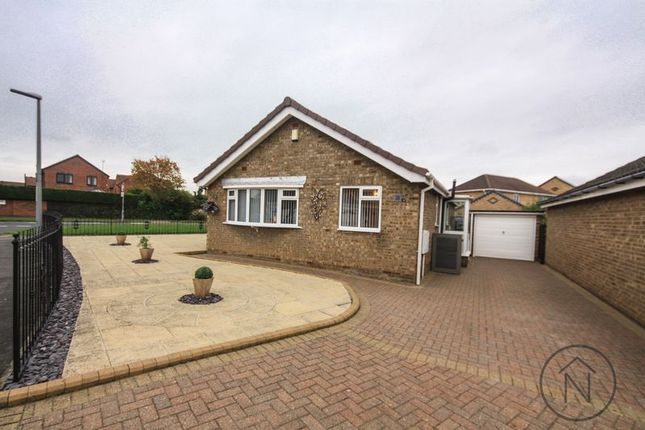 Thumbnail Detached bungalow for sale in Driffield Way, Billingham