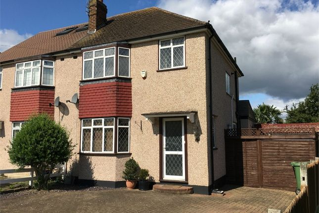 Thumbnail Semi-detached house for sale in Gadesden Road, West Ewell, Epsom