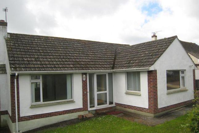 Thumbnail Bungalow to rent in Mathill Road, Brixham, Devon