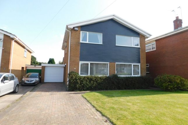 Thumbnail Detached house for sale in North Way, Shavington, Crewe