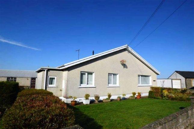Thumbnail Detached bungalow for sale in Rhyd Y Felin, Station Road, Tregaron, Ceredigion