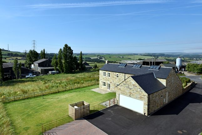 Thumbnail Barn conversion for sale in Dransfield Hill Farm, Liley Lane, Upper Hopton