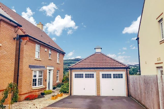 Thumbnail Detached house for sale in Company Farm Drive, Llanfoist, Abergavenny