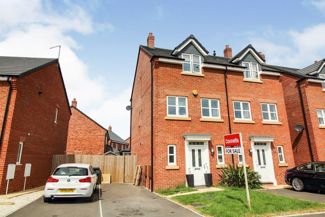 Thumbnail Semi-detached house for sale in Piper Close, Copcut, Droitwich