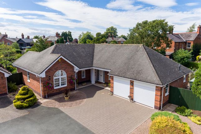 Thumbnail Detached bungalow for sale in Soulton Road, Wem, Shropshire