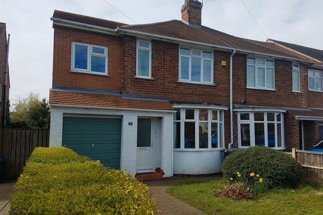 Thumbnail Semi-detached house for sale in Cliff Way, Radcliffe-On-Trent, Nottingham
