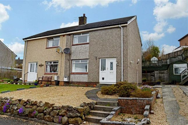 Thumbnail Semi-detached house for sale in Calderpark Avenue, Lochwinnoch