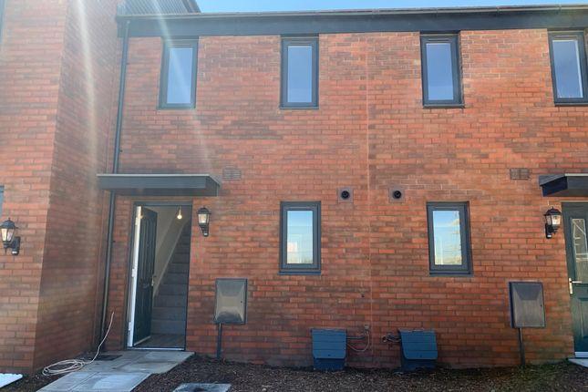 Thumbnail Terraced house to rent in Ffordd Y Dociau, Barry