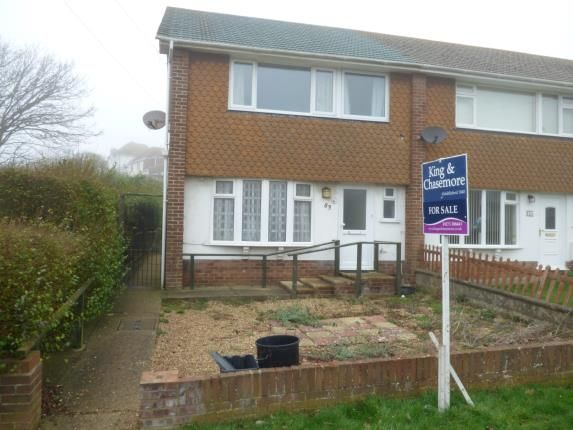 Thumbnail End terrace house for sale in Bannings Vale, Saltdean, Brighton, East Sussex