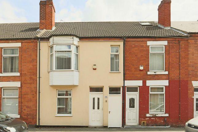 Terraced house for sale in Carlingford Road, Hucknall, Nottinghamshire