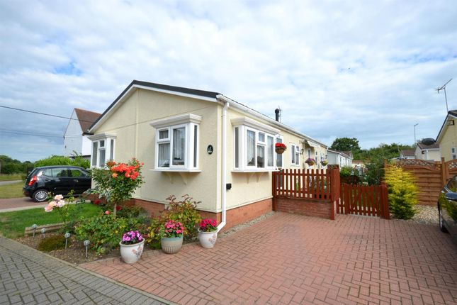 Thumbnail Mobile/park home for sale in Hill Cottages, Flag Hill, Great Bentley, Colchester