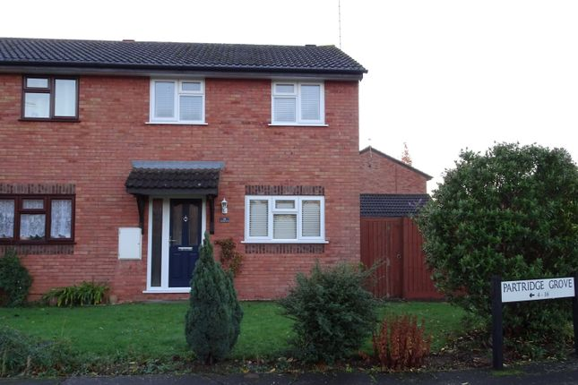 Thumbnail Semi-detached house to rent in Partridge Grove, Peterborough