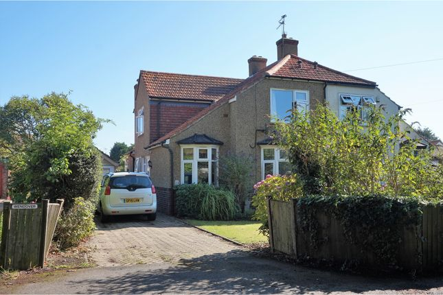 Thumbnail Semi-detached house for sale in Palmarsh Avenue, Hythe