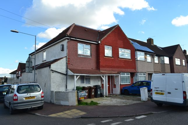Thumbnail End terrace house for sale in Marston Avenue, Dagenham, Essex
